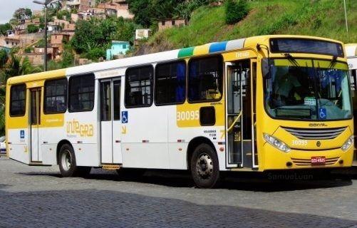 Ônibus é incendiado no bairro de Sussuarana 673934b4f0207