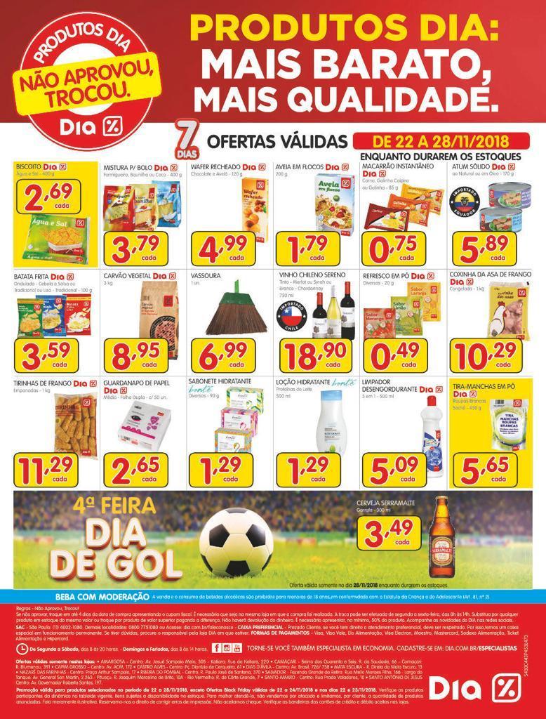 676ec6317c Não perca a maior Black Friday do Brasil no Supermercado Dia. São três dias  de ofertas como você nunca viu. Chegue cedo e aproveite. Confira