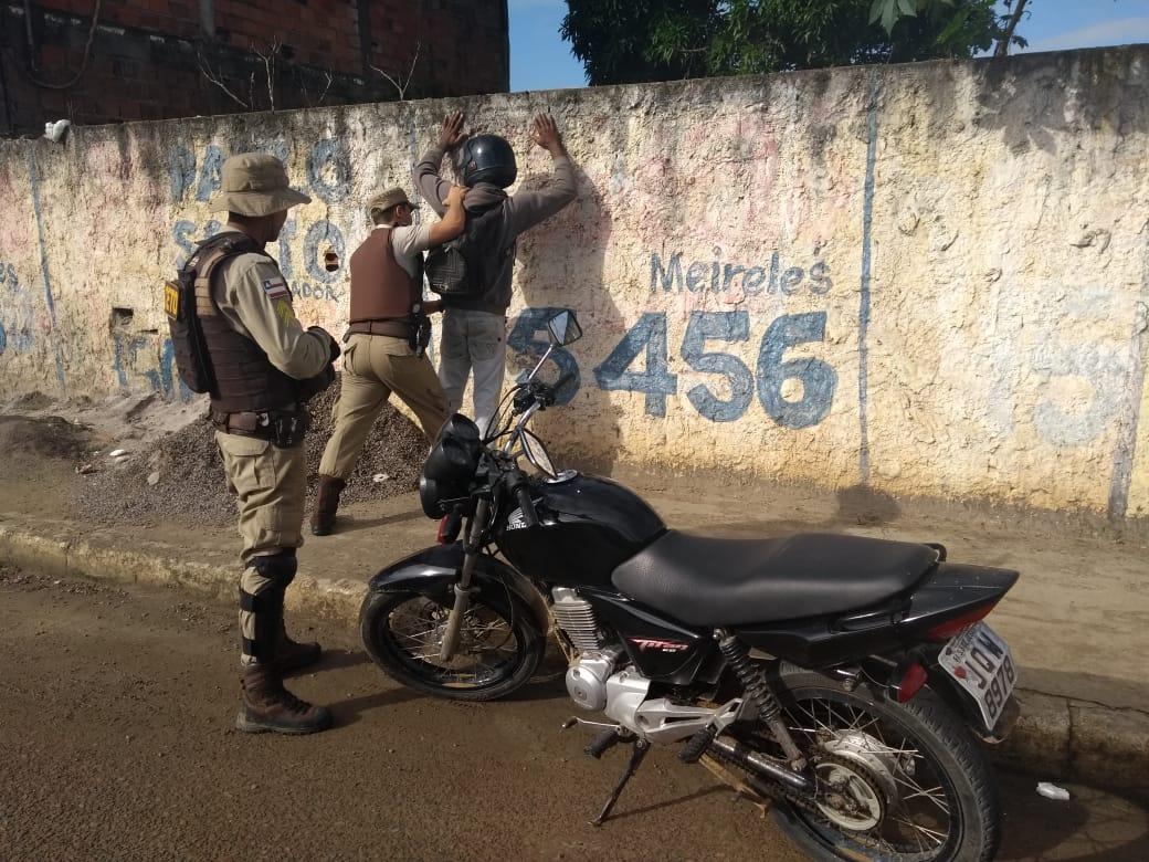 Operação Semana Santa do 14º Batalhão conta com o apoio do GRAER em Santo Antônio de Jesus 2
