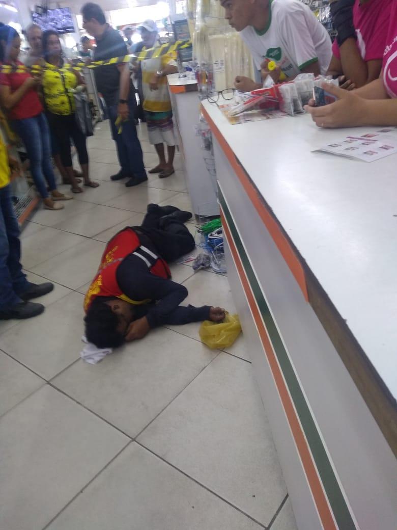 SAJ: Mototaxista morre no interior de loja na Praça Padre Mateus; causa da morte está sendo apurada 2
