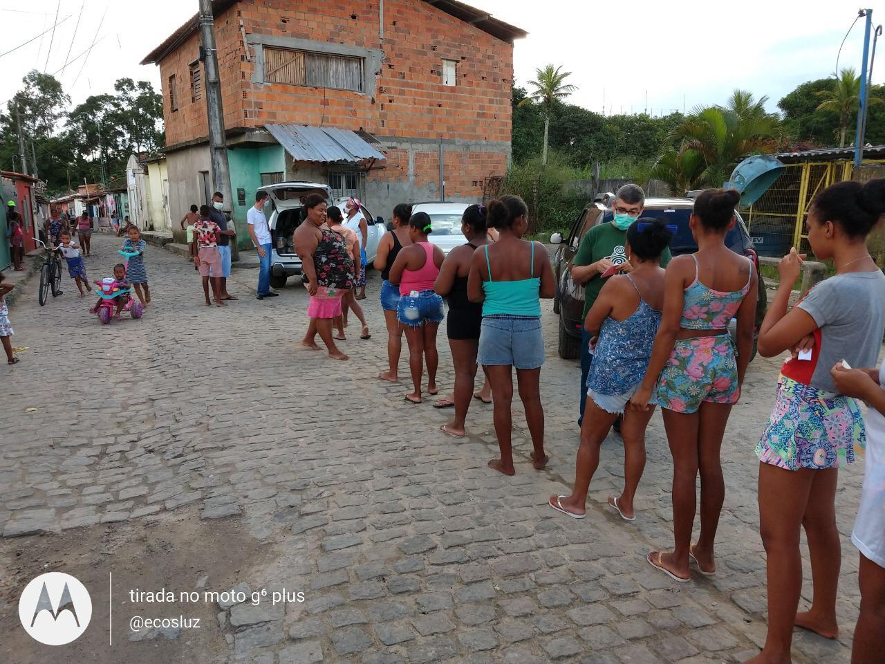 SAJ: Instituto Ecos de Luz realiza entrega de alimentos ...