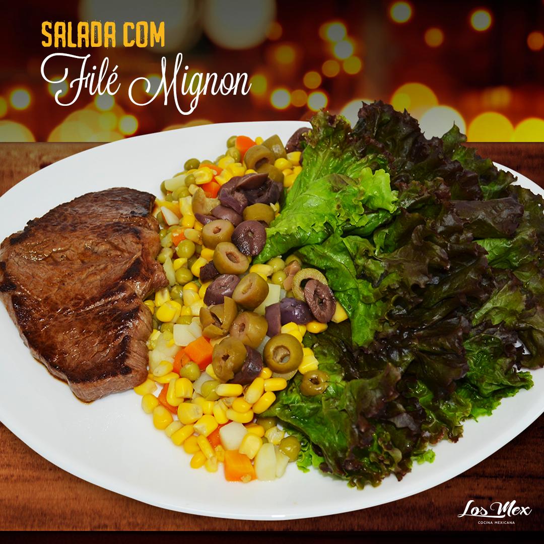Salada-com-filé-mignon