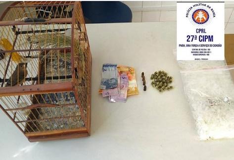 27ª CIPM apreende droga e munição durante ronda em Cruz das Almas