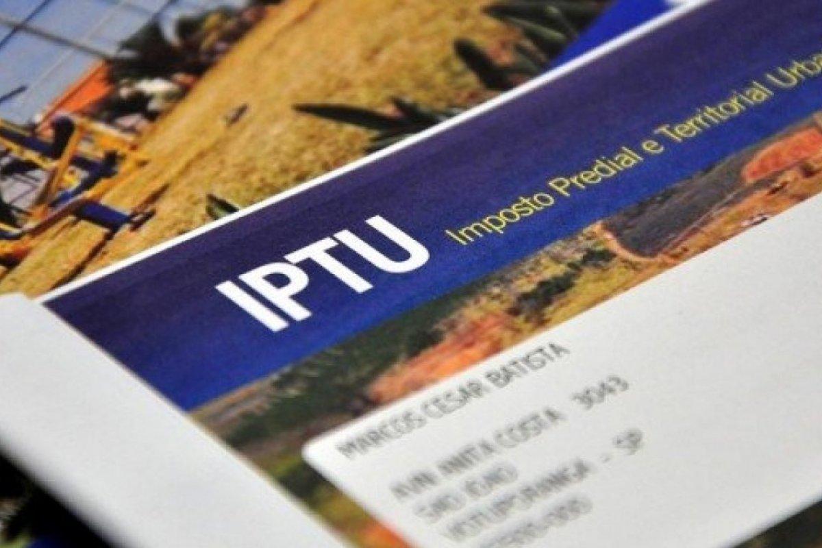 Prefeitura de SAJ prorroga prazo de pagamento do IPTU 2021