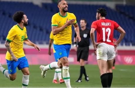 Brasil vence Egito e está na semifinal das Olimpíadas