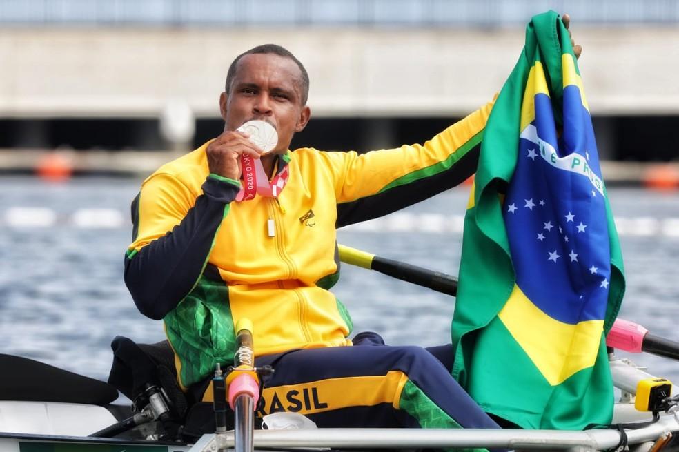Baiano Renê Campos Pereira conquista o bronze com arrancada