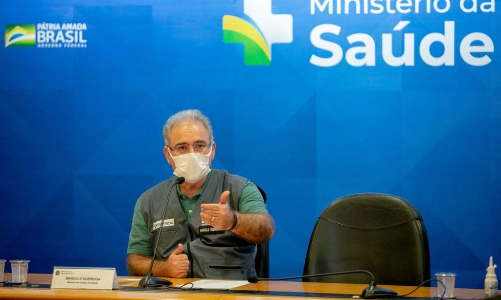 Queiroga diz ser contrario a obrigatoriedade do uso de máscara contra Covid