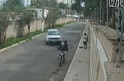 Motorista atropela criminosos e evita assalto no Campo Lipo