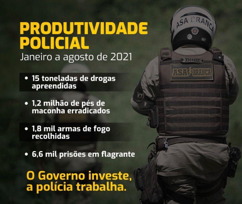 Secretário de Segurança Pública da Bahia reforça ofensiva contra a criminalidade